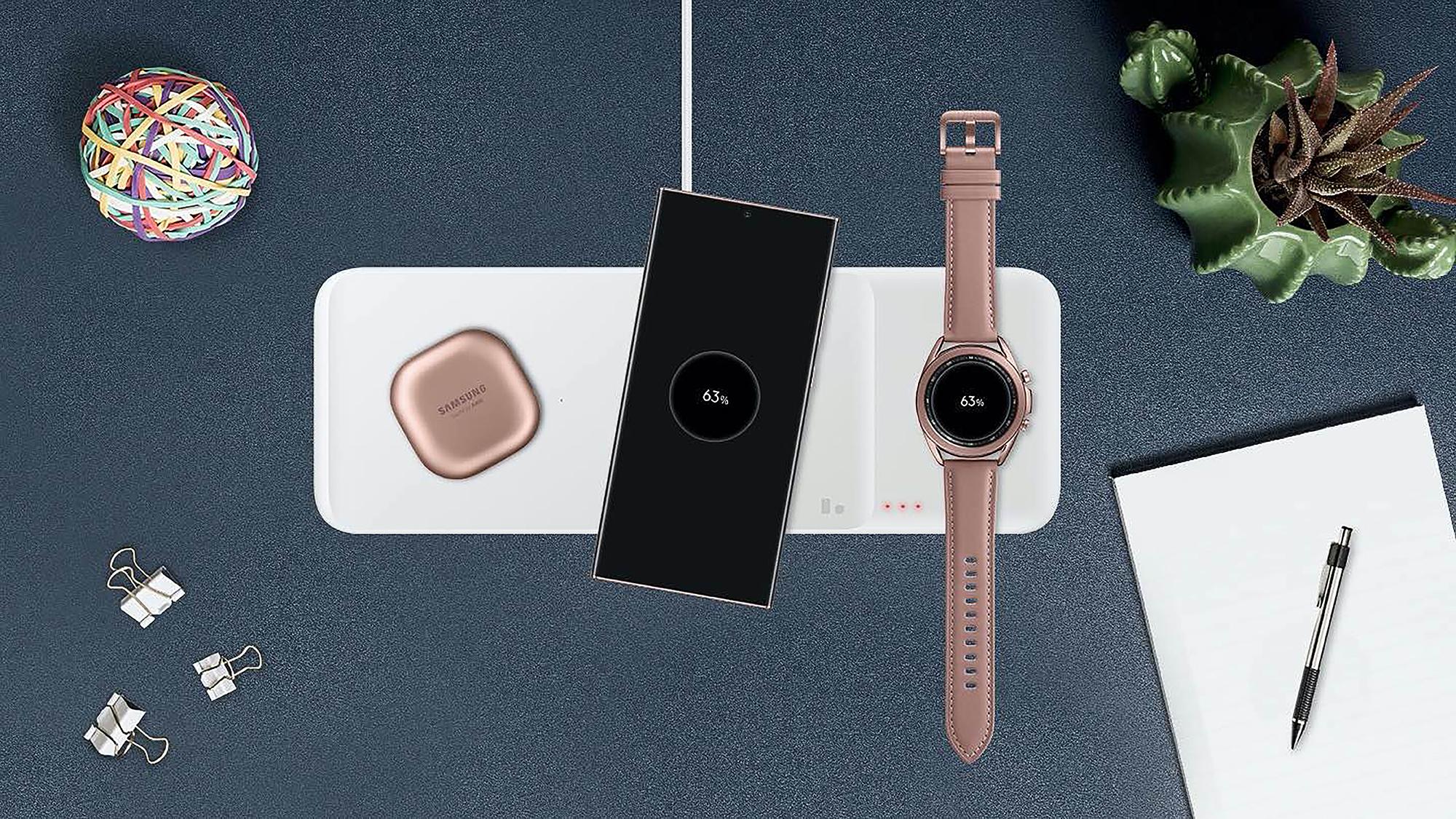 Samsung Trio Wireless Charging Pad
