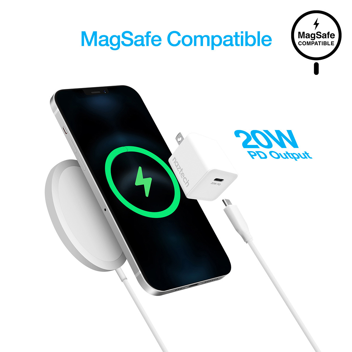 Naztech 20W Mini MagSafe compatibility