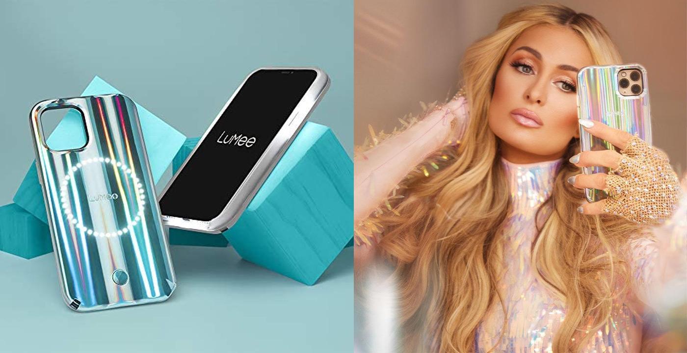 iPhone 12/12 Pro LuMee Holographic Paris Hilton Halo Case
