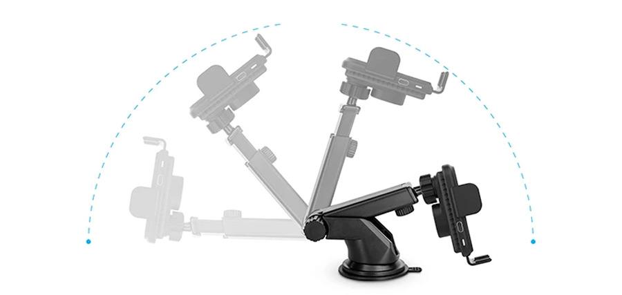 Naztech mount Adjustable Telescopic Arm