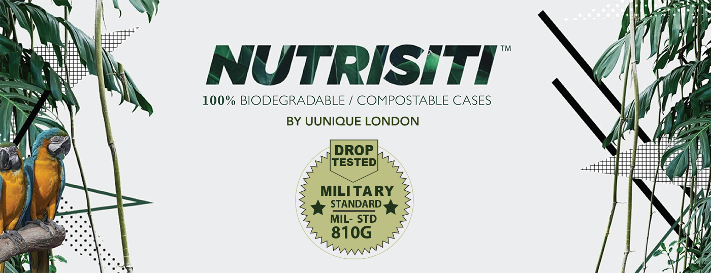 Nutrisiti 100% Biodegradable/Compostable Cases